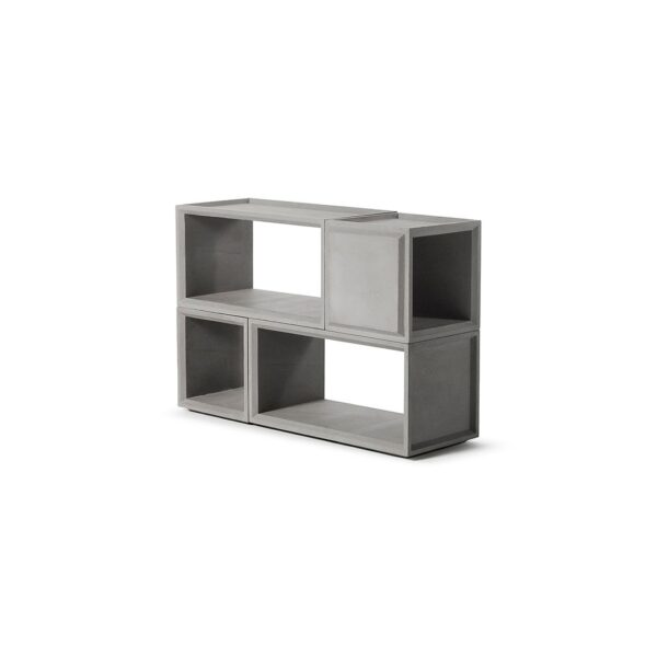 plus combo - 2S+2M featured in Concrete storage solutions|console tables & stands|bookcases & shelves|sideboards by Lyon Béton
