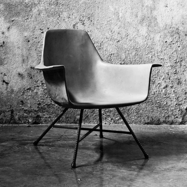 hauteville low armchair featured in Concrete armchairs by Lyon Béton