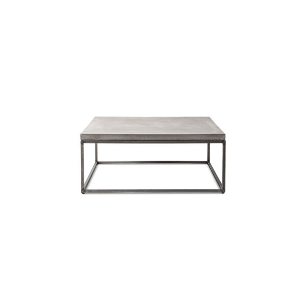 perspective square coffee table - L featured in Concrete coffee tables by Lyon Béton