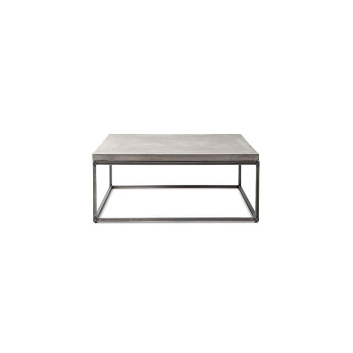 square coffee table - L perspective
