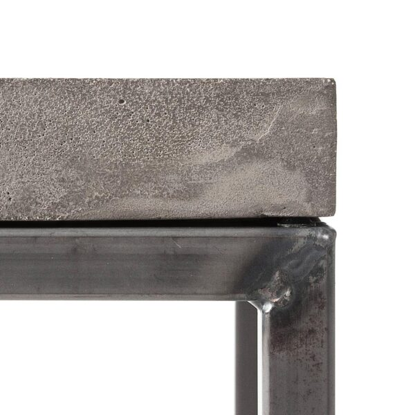 perspective rectangular coffee table featured in Concrete coffee tables by Lyon Béton